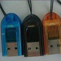 Free Shipping USB 2.0 micro sd TF Memory card reader tf reader 10pcs/lot