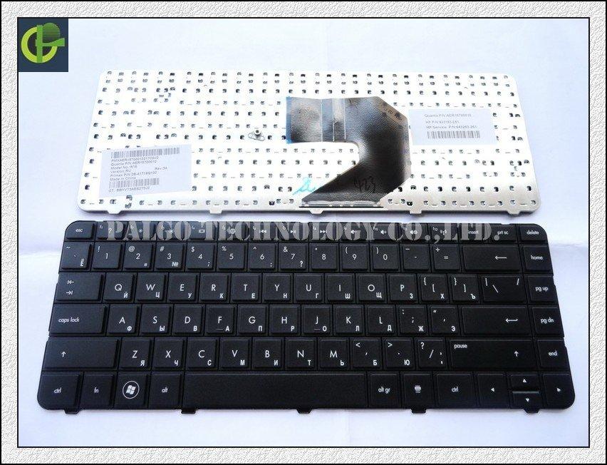 Russian Keyboard for HP Pavilion G4 G43 G4-1000 G6 G6S G6T G6X G6-1000 635 Q43 CQ43 CQ43-100 CQ57 G57 430 RU Black keyboard(China (Mainland))