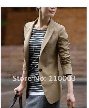 2012 hot selling   woman suit blazer coat H0009