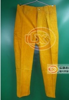 Genuine leather  Welding  pant