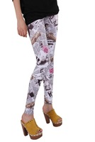 Hot Sell Fashion Women's Leggings patterned tights A variety of styles mixed