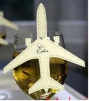 Airplane Shape Place Cards wedding and any party