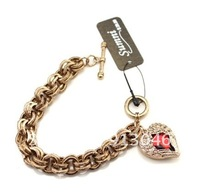 2012 the latest model of the shining red wings alloy bracelet
