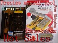 HOT SALES,45 in 1 Electron Torx Screwdriver Tool Set computer mobile phone repair tools ,precise,freeship