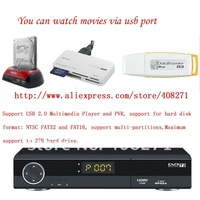 Free Shipping HD DVB-T2/T TerrestrialTV receiver Fully compatible with Russia Free FTA channel Auto/Manual channel search