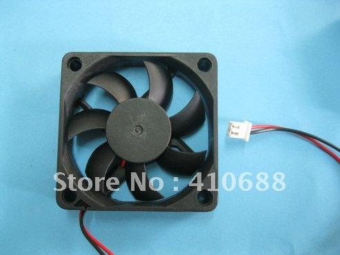 2 Pcs Brushless DC Cooling Fan 24 V 6015S 7 Blades 60x60x15mm sleeve-bearing 2 pin Hot Sale High Quality