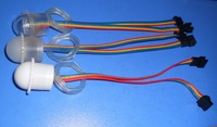 26mm diameter TM1804 LED pixel module;3pcs 5050 RGB SMD LED,DC12V input;IP68