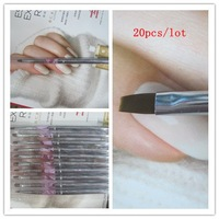 Wholesale #8 kolinsky hair Acrylic Nail Brush, Uv Gel Brush /Nail Art Brush 10pcs/lot+Free shipping