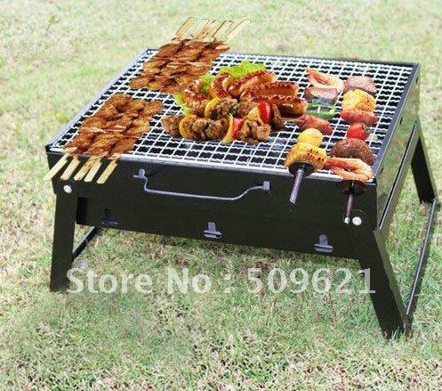 Portable barbecue grill au charbon barbecue portable sain de s curit pour 2 - Barbecue portatif charbon ...