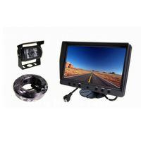 9 Inch Digital LCD Monitor Mirror Night Vision Backup Camera Car Rear View System for RV, Truck, Trailer, Bus, Fifth-Wheel