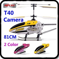 81CM 31.8 Inch MJX Newest Huge Large T40 MEMS GYRO 2.4Ghz Camera 1500mAh Battery T40C T640 Electric RC Helicopter Wholesale