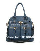 fashion first layer cowhide bolsas women messenger bag genuine leather women's handbag female lock strap office tote bags