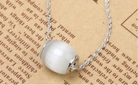 Free shipping,wholesale 925 Silver Pendant, Cat's Eye Necklace, 925 Jewellery Drop Pendant, 925 Wedding Jewelry,best gift