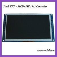7inch lcd module+SSD1963 controller+PCB board MCU interface