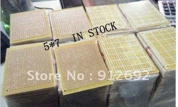 PCB  Epoxy board 5cm*7 cm  10PCS/LOT    5*7cm   Epoxy board 5*7  HOT Sale Free shipping   top sell   in stock