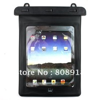 Water proof Cover Case For Ipad 1/2/3 New Ipad3 Galaxy tab & Android Tablet Black