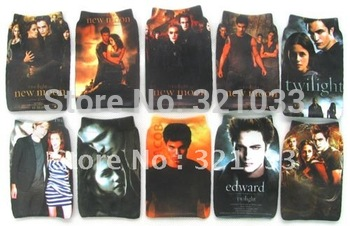 200 pcs The Twilight Saga MOBILE PHONE bags Pouch Socks