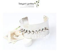 Браслет из бисера Charm Alloy Retro Skull Dragon Claw Bangle Vintage Bracelet SPX0615