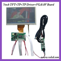 tft lcd controller with AV,VGA Input