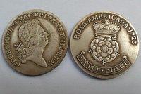 1723 ROSA AMERICANA COIN