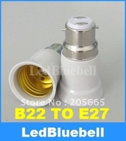 Free Shipping B22  to E27 Light Lamp Bulbs Adapter Converter  [ LedBluebll ]