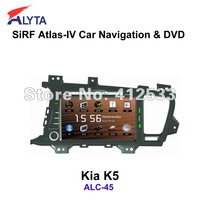 KIA K5 navigation dvd Sirf A4 8.0 inch HD touchscreen V-6 Disc HD car DVR support