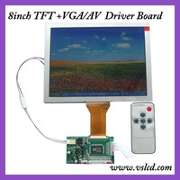 8inch tft lcd display with controller board