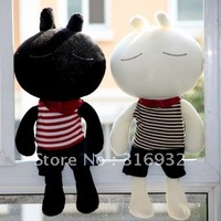 J1 Wholesale & retail Tuzki  in Stripe clothes plush toy ,1 pair