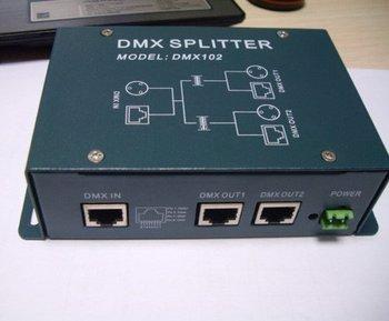 DMX splitter digital signal DMX512 distributor distribution device