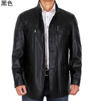 Free shipping !!!! 2014 Sell like hot cakes brand man leather high-grade sheep leather motorcycle leather jacket/ M-3XL