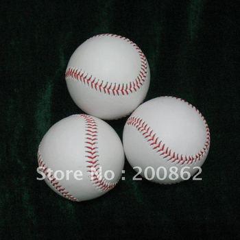 PVC leather + Cork = hard sign baseball, the baseball is for training