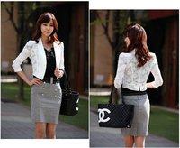 Женская куртка women's plus size blazer short jacket w13254, FASHION jacket