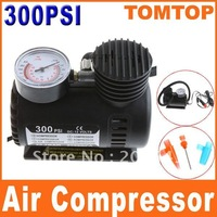 12V Car Auto Electric Pump Air Compressor Portable Tire Inflator 300PSI K590   Free Shipping Dropshipping Wholesale