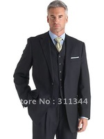 3332 2012 new men's suits single-breasted bussiness suit men's dress suits  cotton (coat+pants+jacket)