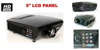 LED projector has the same system with LCD projector , much long life lamp with 20 000 hours ,HD video projector