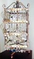 Rotate Square 4 Layer Earring Display Stand/Earring Rack/Earring Holder/Jewelry Organizer Free shipping