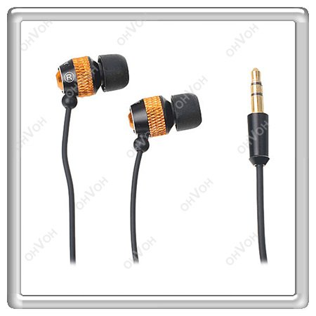 S5Y Stereo In Ear Headset Earphone Headphone for MP4 iPod iPhone 3GS 4S iPad HTC(China (Mainland))