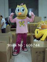 Adult Size Plush Bodysuit Custom Made Eagle Cartoon Costumes Fancy Costumes USPS Free Shipping