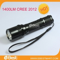 Free shipping 2012 hot sale 1400 Lumen USA LED CREE   M1 LED Flashlight Torch