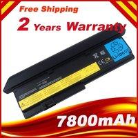 Hot fast shipping NEW 9 CELL Laptop battery for IBM Lenovo ThinkPad X200 X200S X201 X201S X201i 42T4650 black