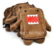 Domo Kun Tama Jun plush backpack good quality  child bags free shipping  5pcs/lot