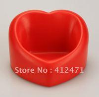 Free shipping Wholesale - High Quality Soft Plush PU foam material 20pcs/lot VALENTINE HEART PHONE HOLDER