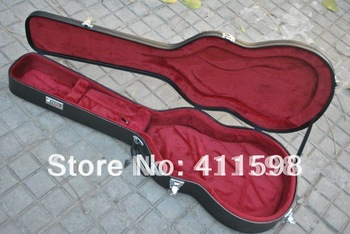 wholesale black LP custom electric guitar case free shipping