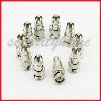 10 Lot BNC Male JACK to RCA Male Plug Coaxial Adaptor
