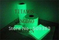 W:1MX10M   glow in the dark  film /Photoluminescent  film self-adhesive vinyl high quality