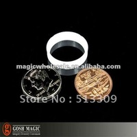 Scotch & Soda (Half Dollar With Mexican Centavo)   ,coin magic tricks online,Christmas wholesale magic store