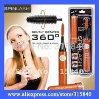1pc New 2015 Spinlash 360degree Rotating Eyelash Brush, Makeup Brush Electronic Eyelash Curler Roller As Seen On TV - MTV38 PA33