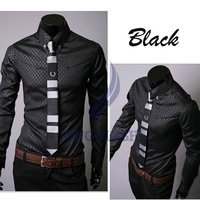 free shipping new men&amp;#39;s shirts,business shirts,casual slim fit stylish dress shirt,men&amp;#39;s clothing 3661