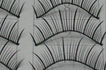 free shipping Hand-made False eyelashes 100pairs /lot (10pairs=1 box)  C0013