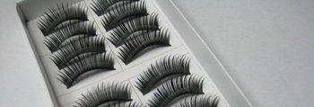 free shipping Hand-made False eyelashes 100pairs /lot (10pairs=1 box)  C0015